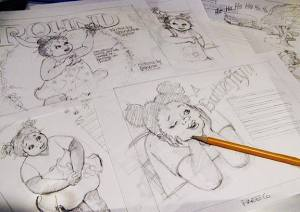 Roughs for Picture Book Illustrations
