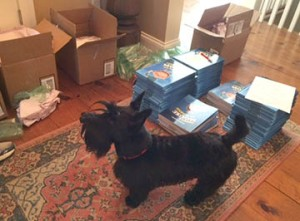delivery of books