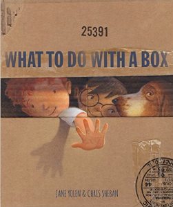 """Picture book, """"What to do with a Box"""""""