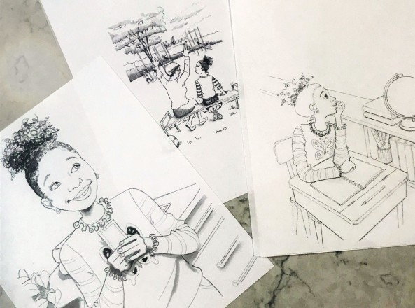 Sketches for book